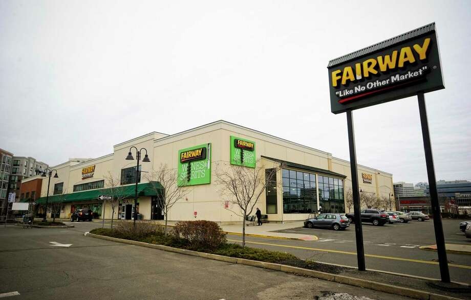 Fairway Market has a supermarket and wine store at 689-699 Canal St., in Stamford, Conn. The stores could shut down and more than 100 employees could be laid off in June 2020, if buyers are not found, according to Fairway officials. Photo: Matthew Brown / Hearst Connecticut Media / Stamford Advocate