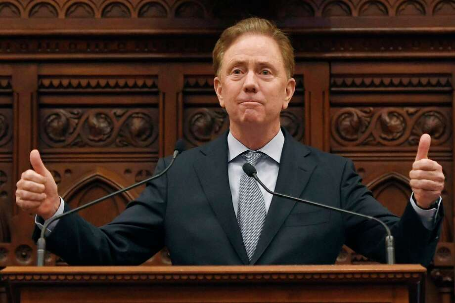 Connecticut Gov. Ned Lamont delivers the State of the State during opening session at the State Capitol, Wednesday, Feb. 5, 2020, in Hartford, Conn. (AP Photo/Jessica Hill) Photo: Jessica Hill / Associated Press / Copyright 2020 The Associated Press. All rights reserved.