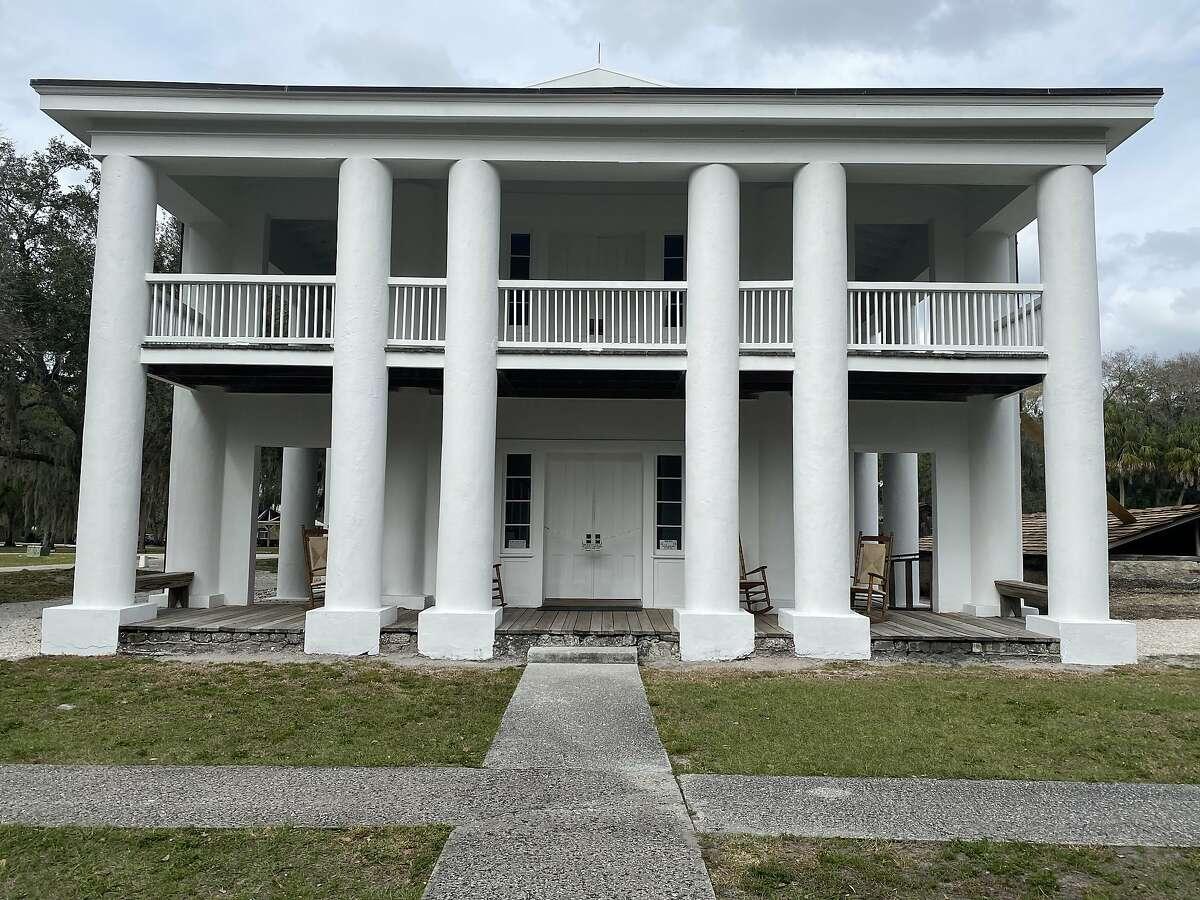Gamble Plantation Historic State Park.