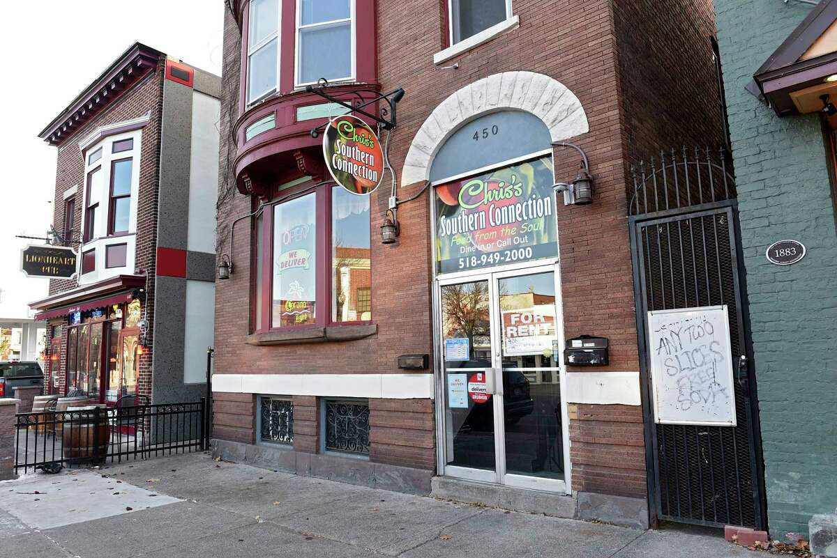 Seized for back taxes: Chris's Southern Connection, 450 Madison Ave., Albany. The soul-food spot was seized for back taxes on January 28, 2020.