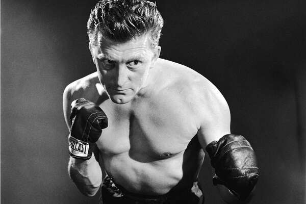 American actor Kirk Douglas in a promotional portrait for 'Champion', directed by Mark Robson, 1949. (Photo by Silver Screen Collection/Getty Images)