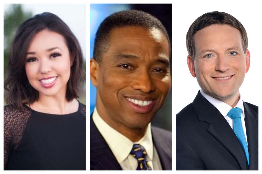 In honor of National Weatherperson's Day, check out some of Houston's weather forecasters that you'll find on local television. Photo: Contributed Photos