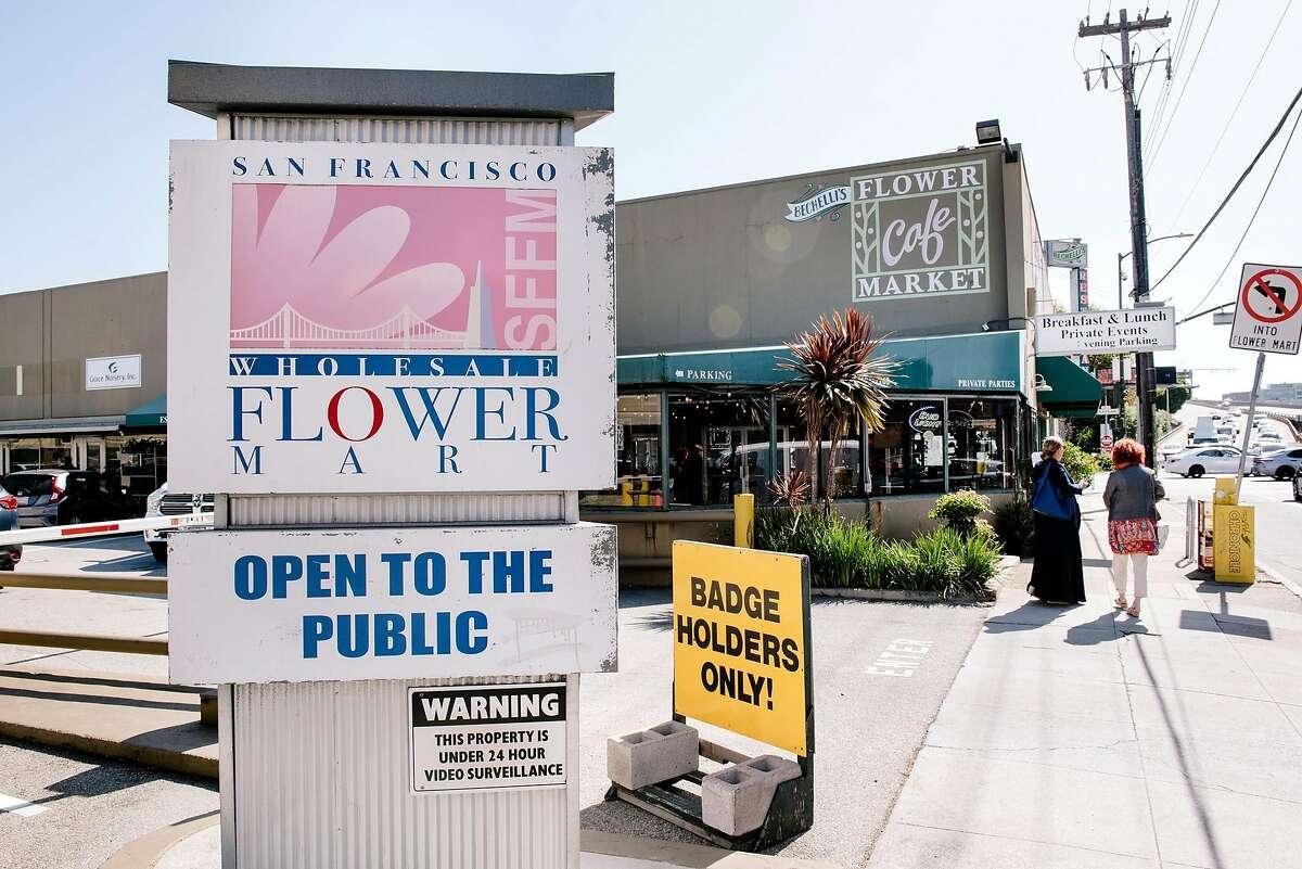 The San Francisco Flower Mart in San Francisco, Calif, on Monday, September 30, 2019.