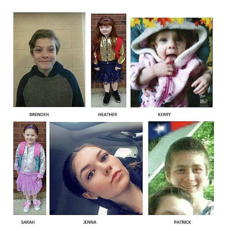 Photos provided by authorities with Silver Alerts issued for the six siblings on Wednesday, Feb. 5, 2020. Photo: Contributed Photos
