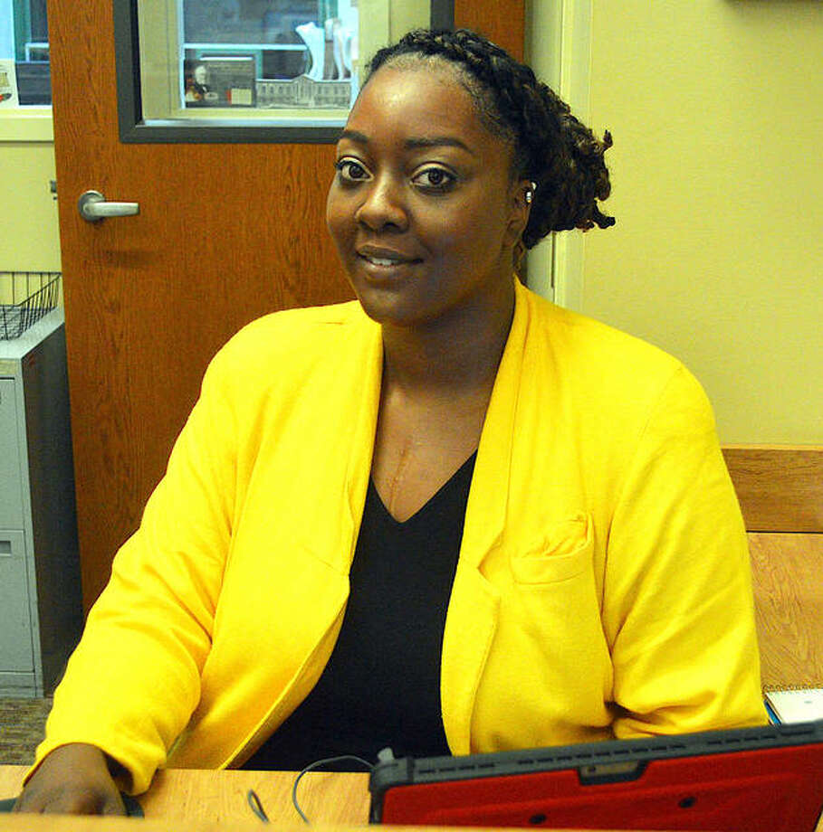 Brejani Owens, a second-year graduate student in the School of Social Work at SIUE, is the new social work intern at SIUE.