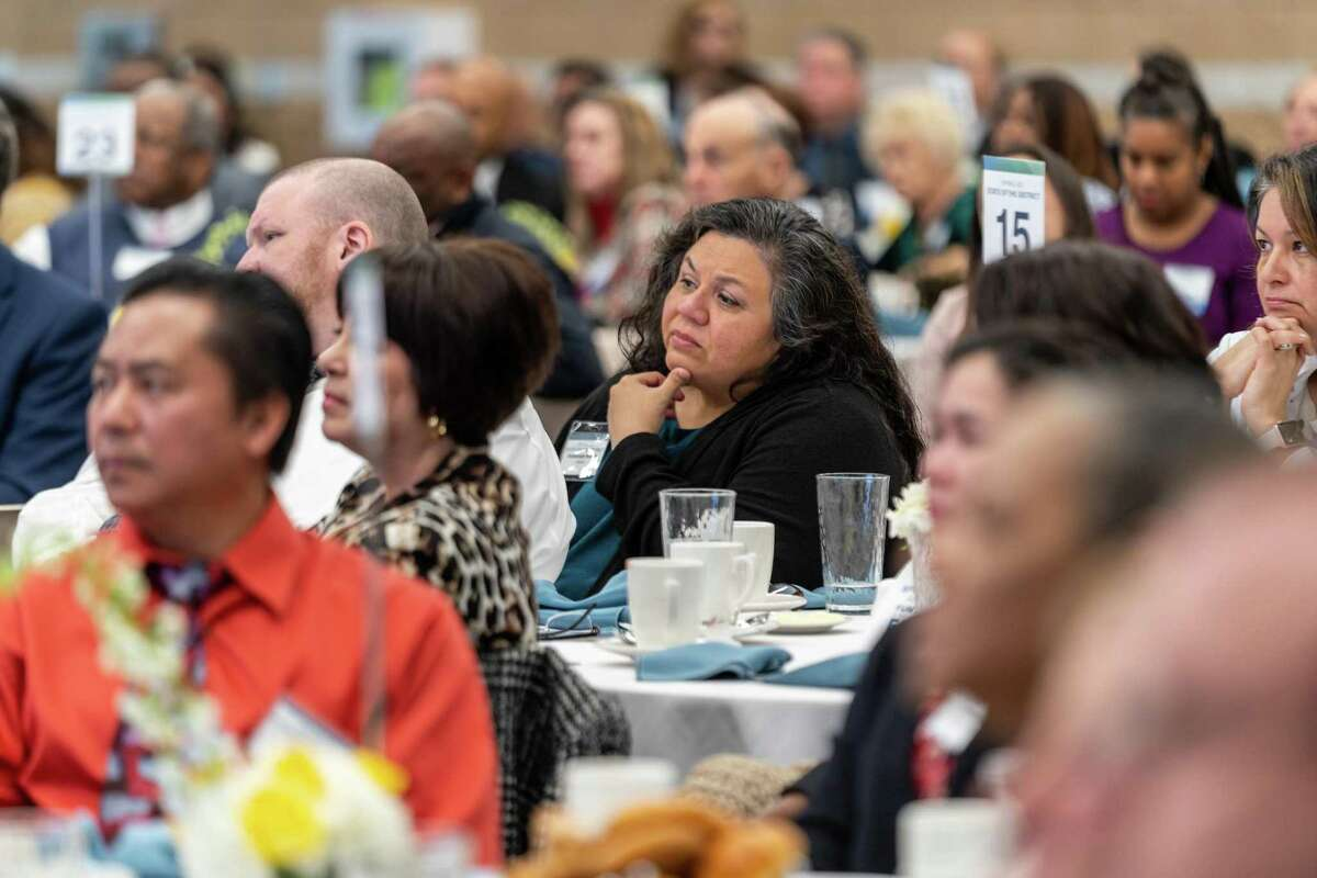 Guests attend Spring ISD's State of the District breakfast Feb. 5, 2020 at the Randall Reed Center.