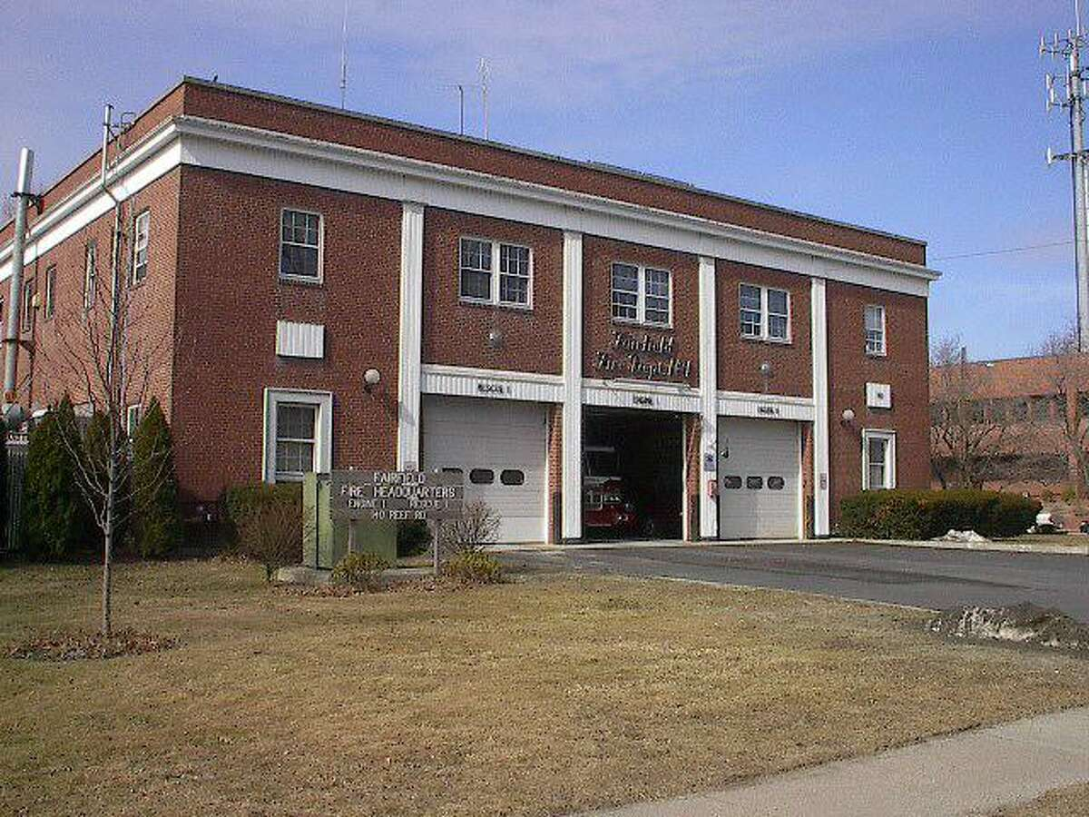 The Fairfield Fire Department Headquarters at 140 Reef Road.