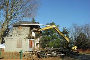 When this house was torn down on Catoonah Street in 2016, there was no demolition delay ordinance, but it was a case where public sentiment seemed to favor demolition rather than saving.