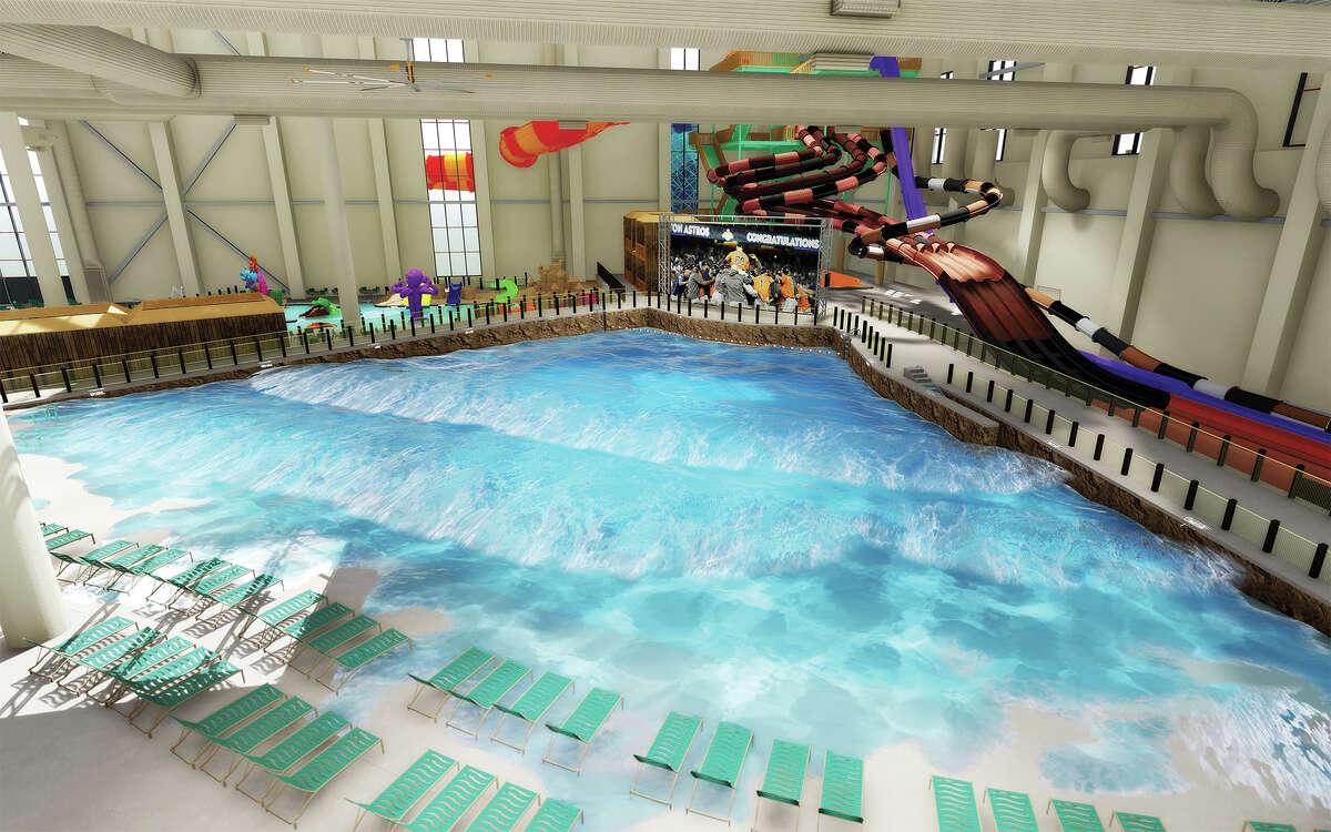 """""""America's largest indoor water park"""" will open Nov. 12 in Round Rock."""