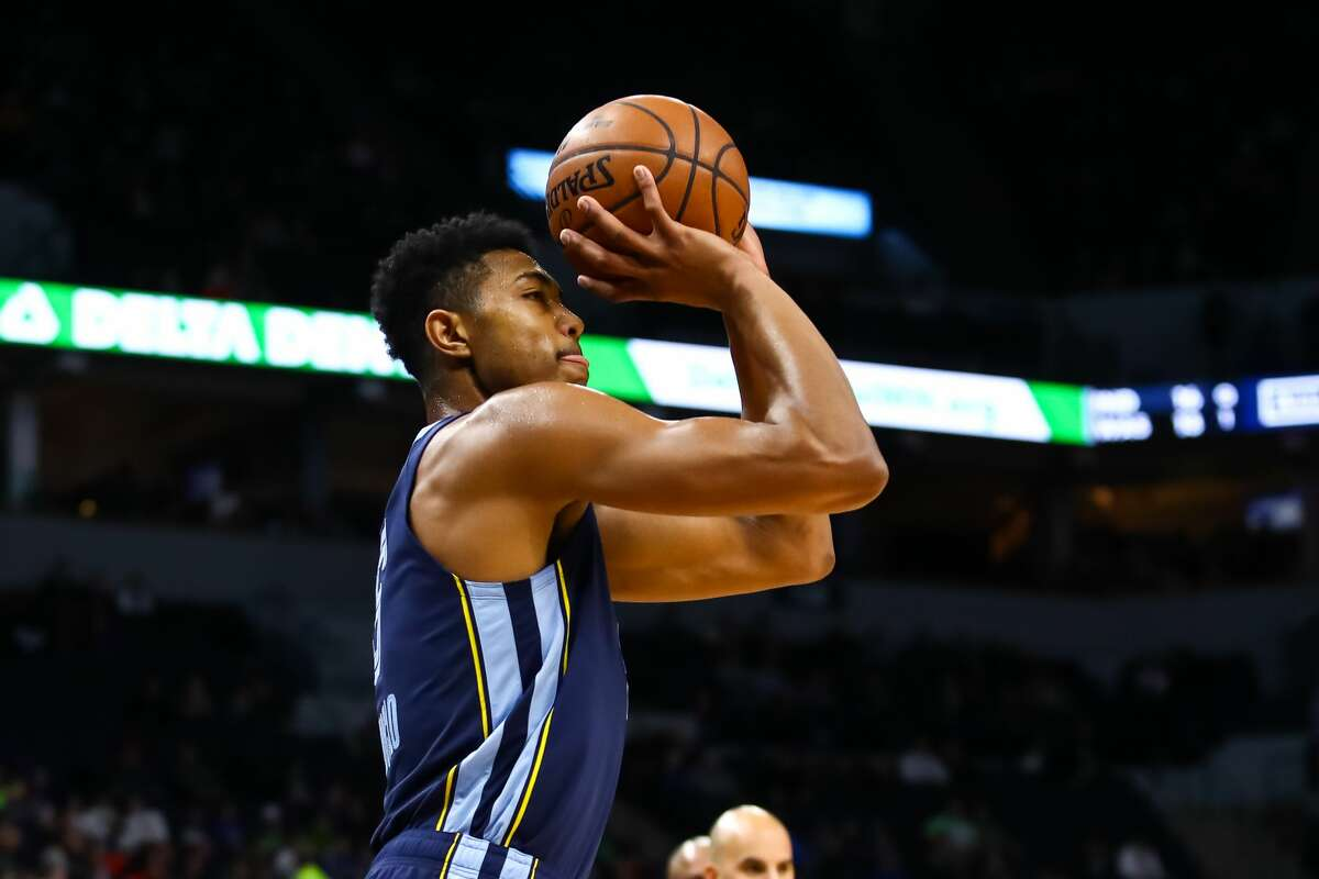 PHOTOS: 2019-20 Rockets game-by-game MINNEAPOLIS, MN - JANUARY 30: Bruno Caboclo #5 of the Memphis Grizzlies shoots the ball against the Minnesota Timberwolves in the first quarter at Target Center on January 30, 2019 in Minneapolis, Minnesota. (Photo by David Berding/Getty Images) >>>See how the Rockets have fared in each game this season ...