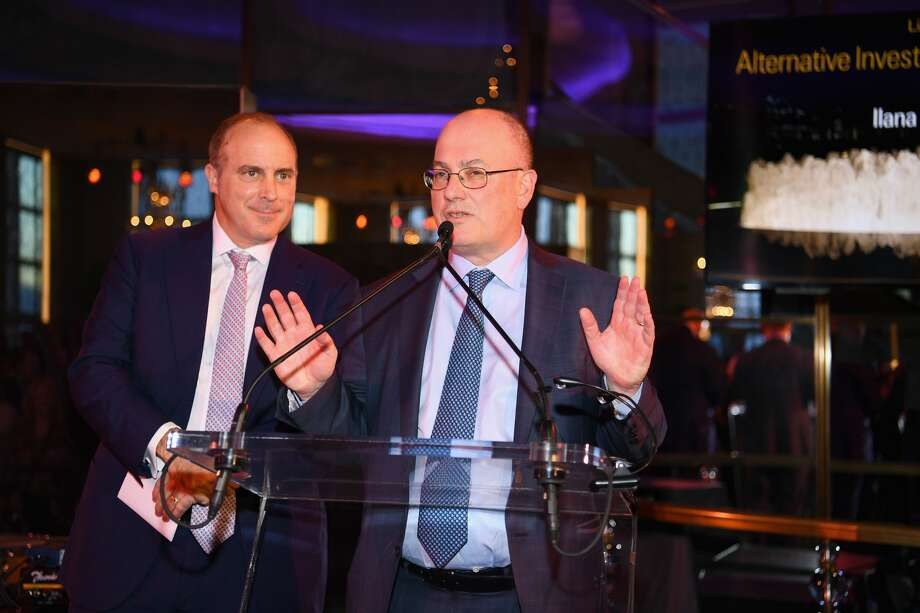 Point72 Asset Management and Gala Chair Steven A. Cohen speaks on stage the Lincoln Center Alternative Investment Gala at The Rainbow Room on April 10, 2019 in New York City. (Photo by Dave Kotinsky/Getty Images for Lincoln Center) Photo: Dave Kotinsky/Getty Images For Lincoln Center
