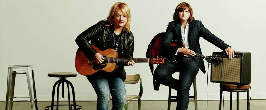 The folk-rock duo The Indigo Girls will perform at Stamford's Palace Theatre March 20. Photo: Www.palacestamford.org