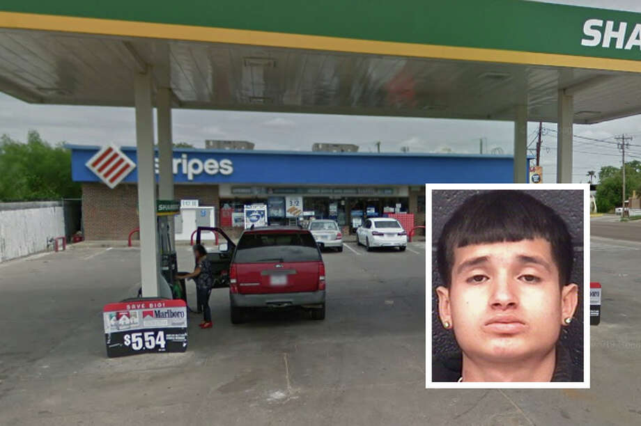 A Laredo police officer on routine patrol foiled what could have been an armed robbery, authorities said. Photo: Courtesy