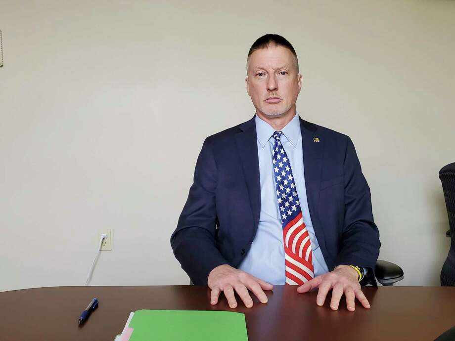 While relieved that officials were able to get an alleged sexual predator off the street, Tuscola County Prosecutor Mark Reene said coordination and tips help present stronger cases. (Scott Nunn/Huron Daily Tribune)