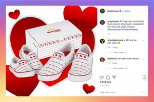 In-N-Out just released a pair of sneakers as part of the burger chain's official merchandise.