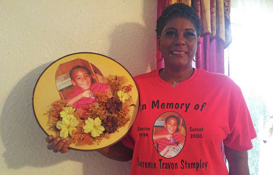 Tonya Stampley-Bratton, the mother of Lawrance Stampley who passed away Feb. 7, 2000, when he was 5, remembers her son and celebrates his life. She said she has had years of counselling and continues to work on moving forward in her life. Photo: Jeanie Stephens|The Telgraph