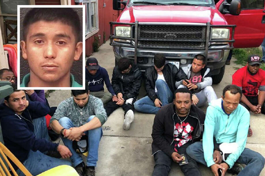 A teenager was arrested on Tuesday for allegedly transporting illegal immigrants. Photo: Courtesy