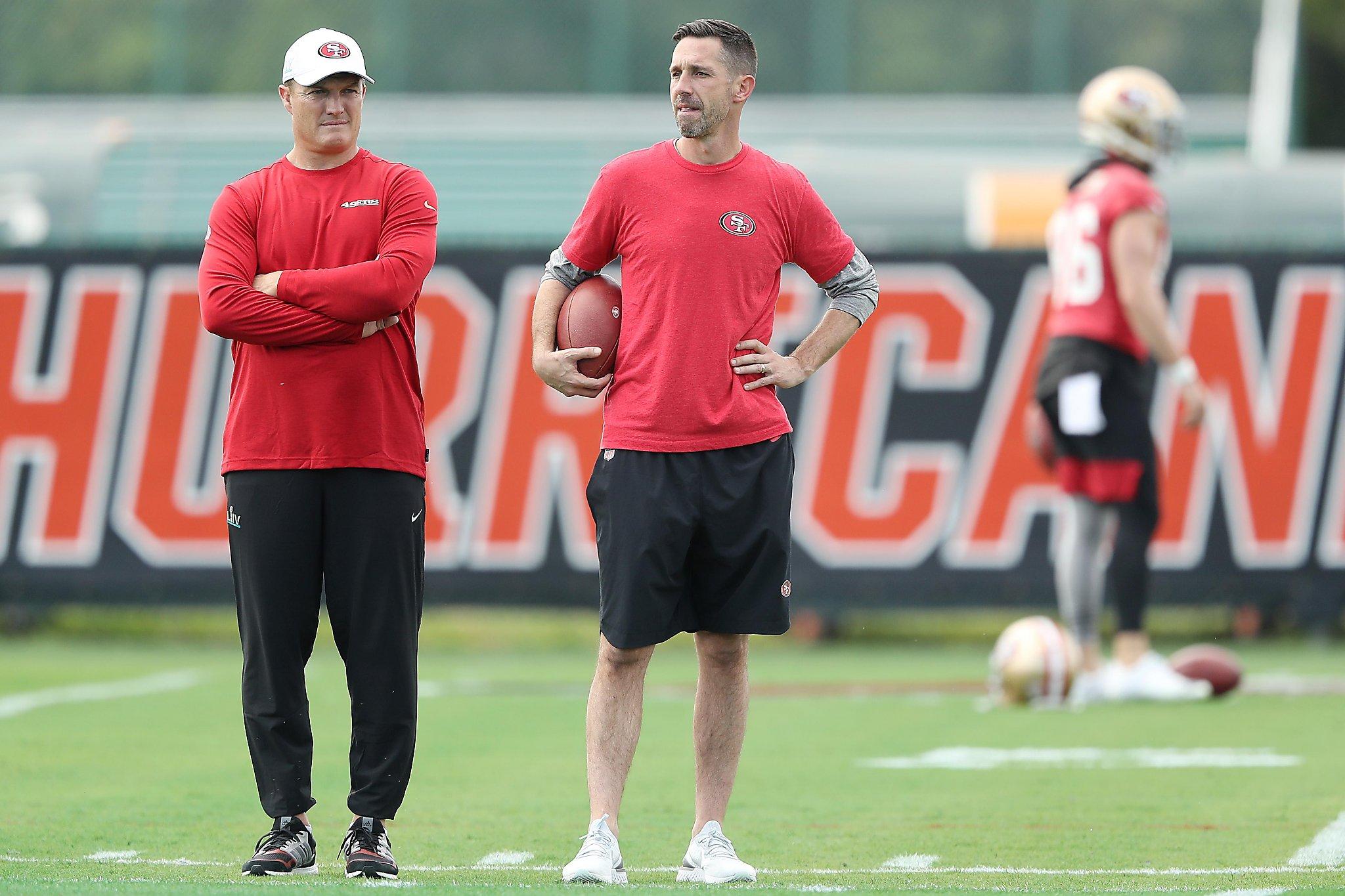 49ers' Kyle Shanahan, John Lynch rewind Super Bowl 'punch in the gut' loss
