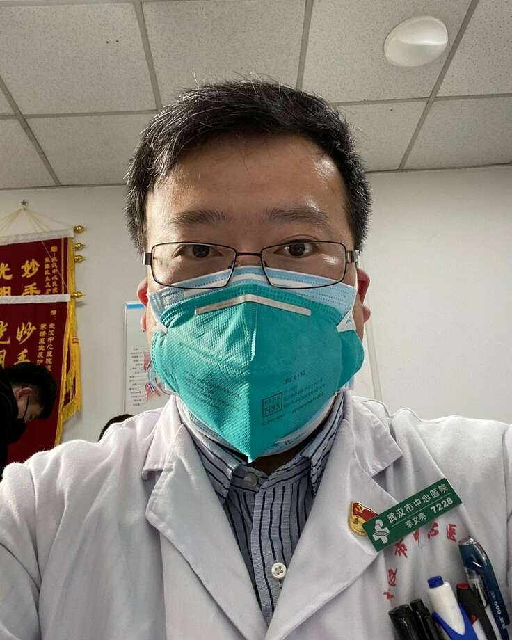 "The Wuhan Central Hospital said on its social media account that Dr. Li Wenliang, a 34-year-old ophthalmologist, was ""unfortunately infected during the fight against the pneumonia epidemic of the new coronavirus infection."" Photo: Dr. Li Wenliang"