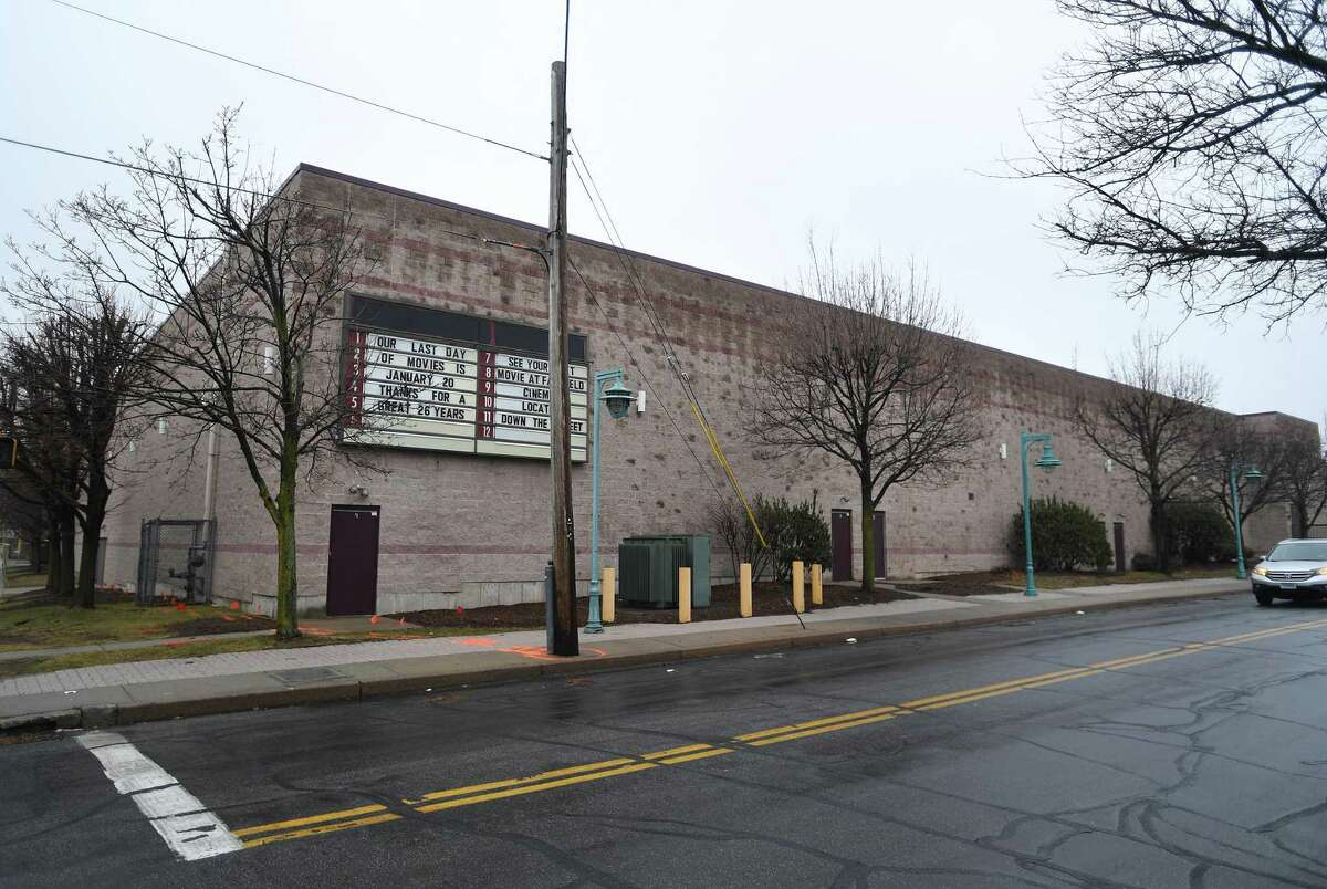 Showcase Cinemas is closed for business at 286 Canfield Avenue in the Black Rock section of Bridgeport, Conn. on Thursday, February 06, 2020.