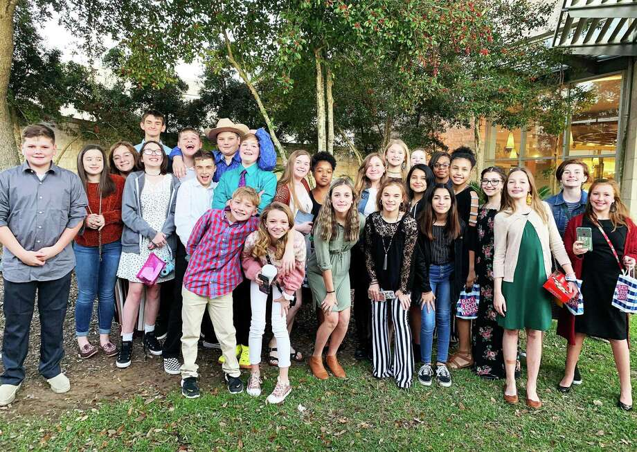 """Twenty-seven Liberty Middle School students competed at Solo and Ensemble contest at Vidor Middle School recently and 21 of them came home with the highest rating—a First Division. Students garnering the awards included Ethan Tulley, Shayleigh Myers, Maeghan Alsup, Daniel """"D.J."""" Frazier, Nova Ritchey, Daxton Frazier, Derrick Bennett, Kaden Kreuzer, Pearce Richardson, Thomas Colburn, Abbygail Colburn, Kirsten Erskins, Vinnisha Harris, Zoey Howard, Piper Hall, Abigail Vickers, Autumn Fielder, Kaylee Lopez, Emily Gwin, Madori Broussard, Alexandra Becerra, Raelea Putnam, Samantha Molina, Madeleine Szalay, Bailey Bendele, and Alyssa Taylor. Photo: Submitted"""