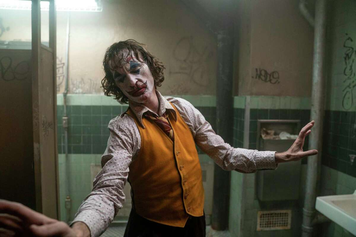 This image released by Warner Bros. Pictures shows Joaquin Phoenix in a scene from