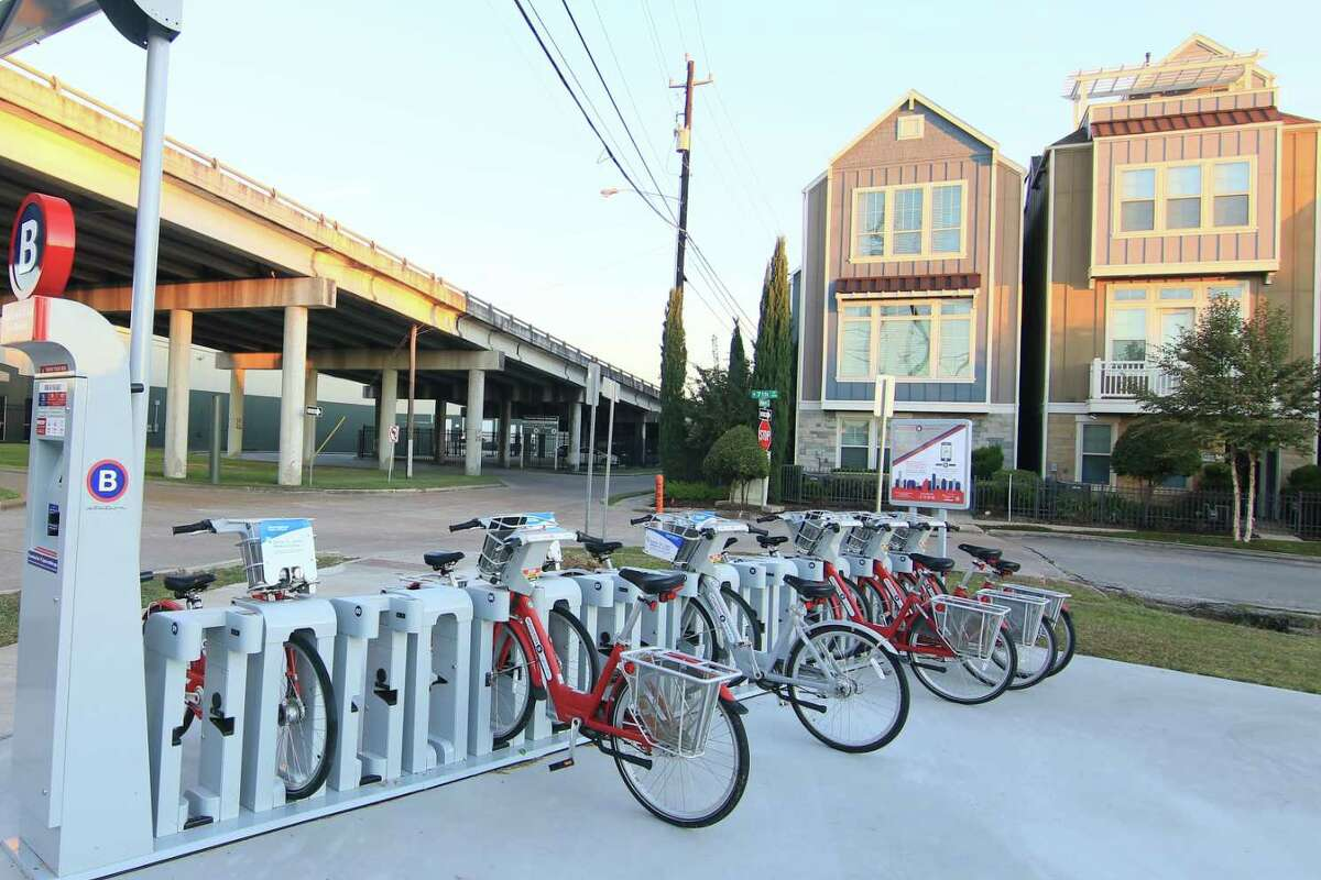 BIKES CENTRAL TO COMMERCE AT M-K-T HEIGHTS DEVELOPMENT