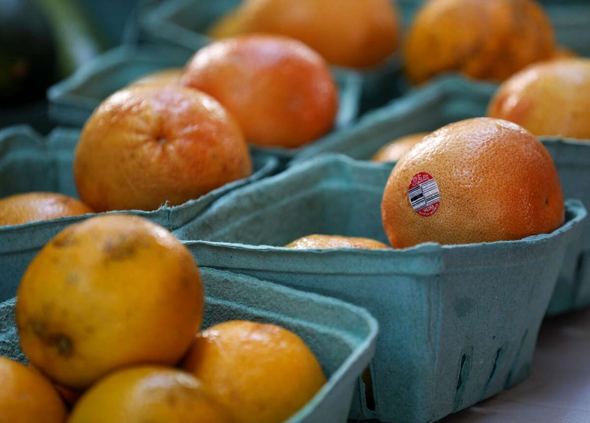 Fresh tangerines, photographed at a farmers market at Kashmere Gardens Elementary School on Saturday, Aug. 17, 2019, in Houston.