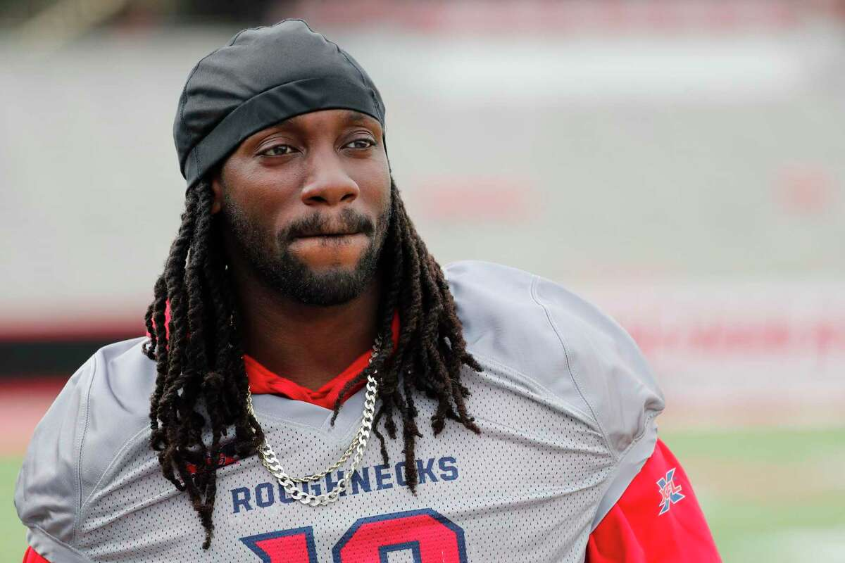 A former standout receiver at Auburn who has played with the Steelers, Browns and Texans in the NFL, Sammie Coates is expected to be one of the Roughnecks' prime weapons in their inaugural season.