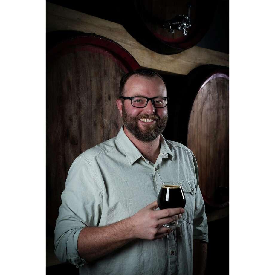 Brad Clark, founder of Private Press Brewing in Santa Cruz, Calif. Photo: Photo By Corey Lippitt