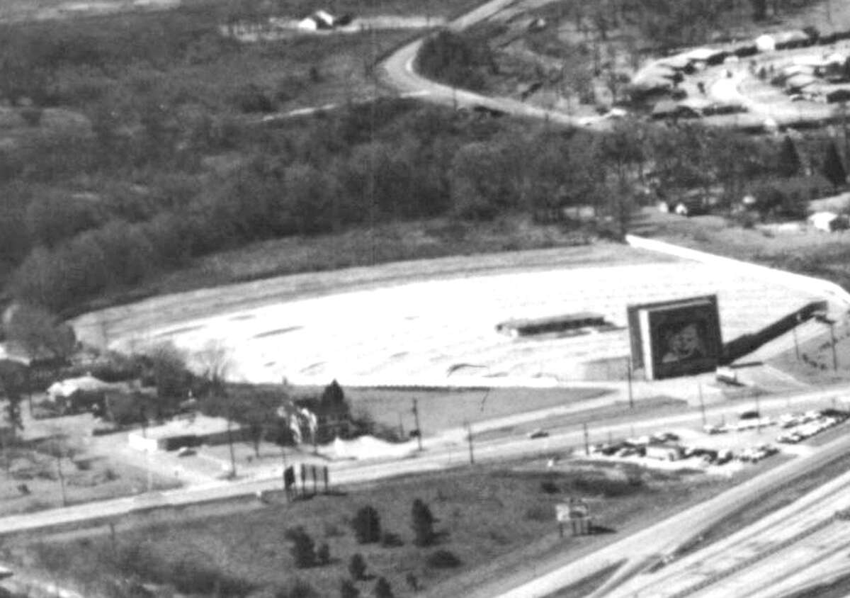 Airline Drive-in, off Airline just south of the North Freeway, circa 1963.
