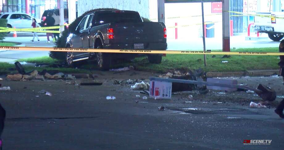 A man riding a mobility scooter was hit and killed Thursday by a driver in Bellaire, police said. Photo: OnScene TV