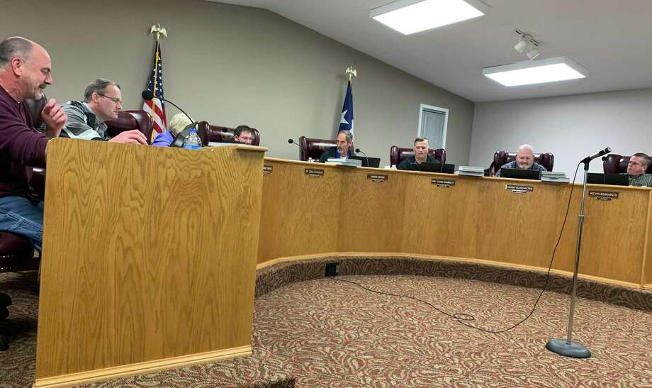 Lumberton ISD's school board meets on Thursday, Feb. 6. Photo: Isaac Windes
