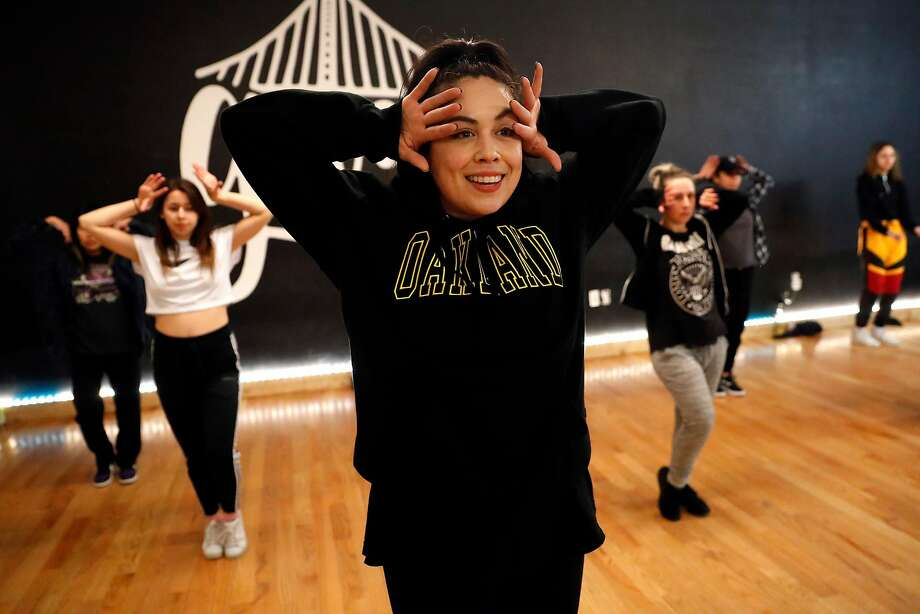 Leslie Panitchpakdi, co-owner, teacher and choreographer at In the Groove dance studio in Oakland, teaches a class at the studio. Photo: Scott Strazzante / The Chronicle