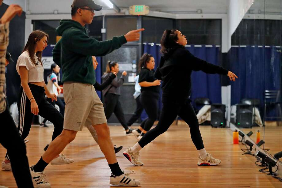Leslie Panitchpakdi teaches dance at her studio in Oakland. Photo: Scott Strazzante / The Chronicle