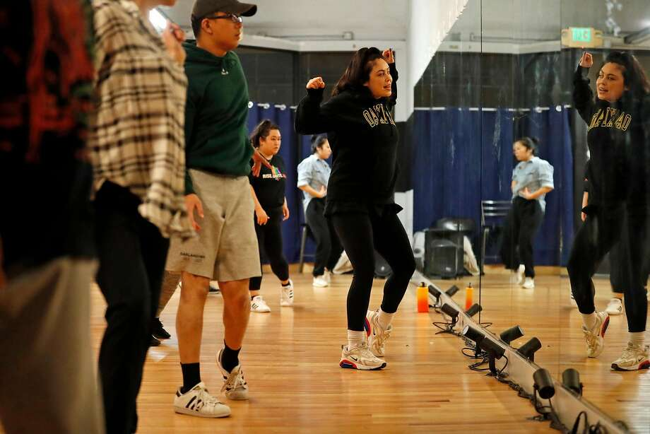 Leslie Panitchpakdi teaches dance at In the Groove dance studio in Oakland. Photo: Scott Strazzante / The Chronicle