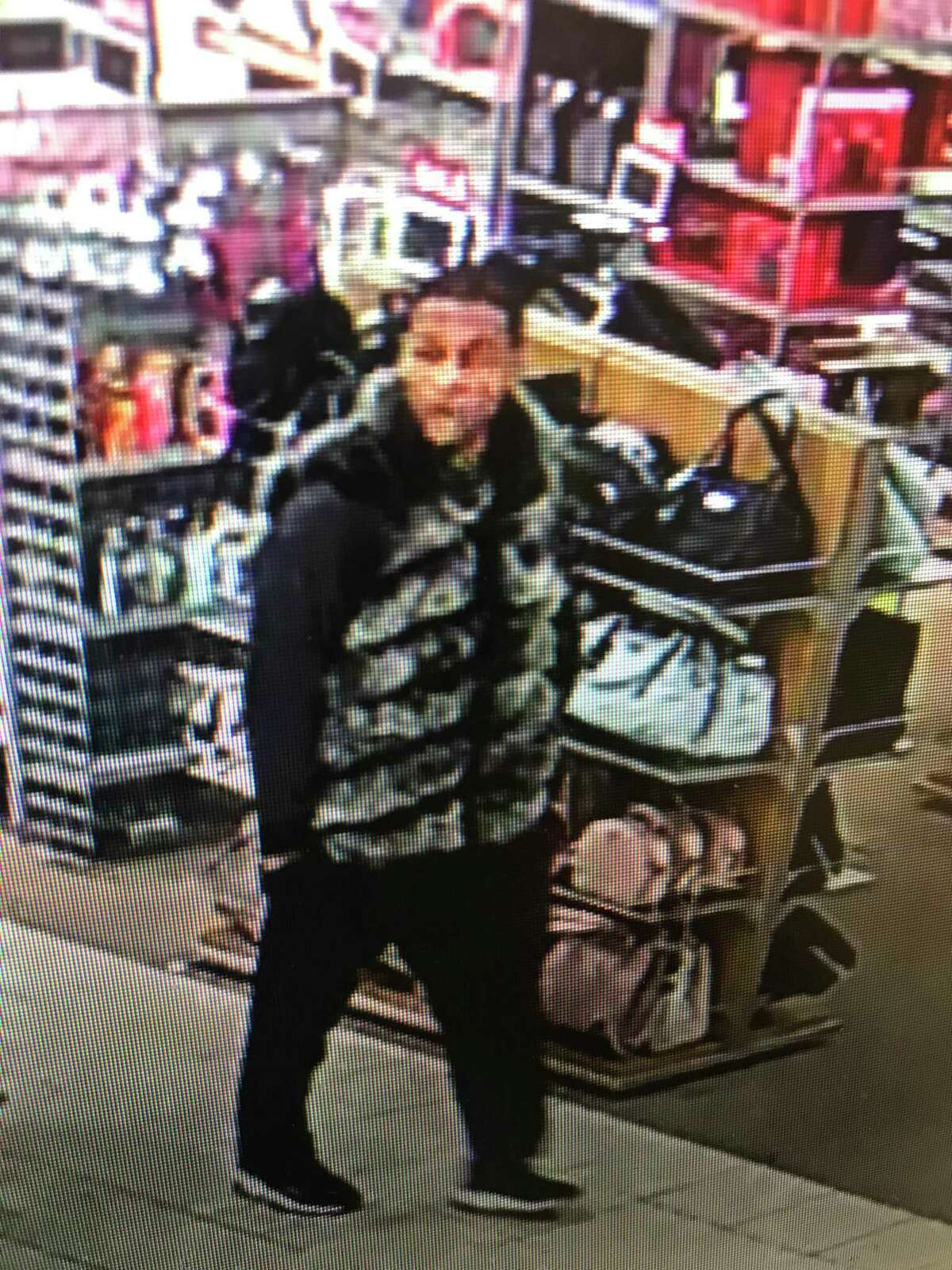 Norwalk Police are looking for a man suspected of stealing jewelry from a local Kohl's Department Store Jan. 27, 2020.