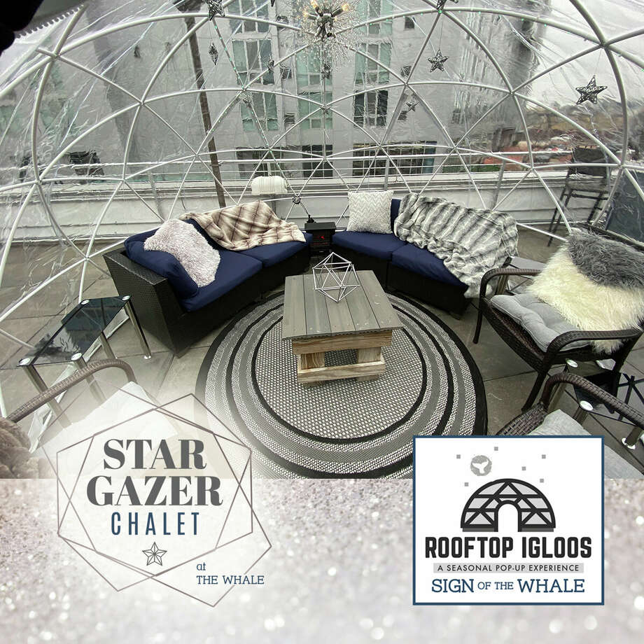 The Stargazer Chalet igloo at Sign of the Whale in Stamford. Photo: Sign Of The Whale