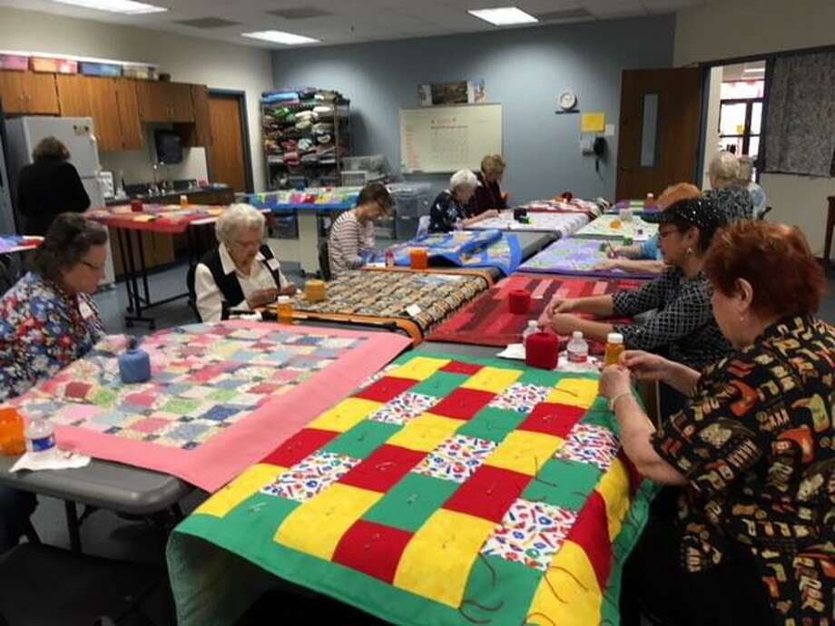 The 11th Annual Sew-a-Thon, happens Saturday, Feb. 29, from 9 to 3 in the Family Life Center at First Presbyterian Church, 2727 N. Loop 336 West in Conroe. Volunteers will make as many children's quilts for Bags of Love as possible, starting with kits pre-cut by sewing group members. Any quilts not finished at the Sew-a-Thon will be completed by the Mission Sewing Group at their regular meetings on Wednesdays. Pictured -Many hands are needed for the 11thAnnual Sew-a-Thon at First Presbyterian Church of Conroe on Feb. 29. During 2019 children under care of Child Protective Services received 154 quilts. Photo: Courtesy Photo