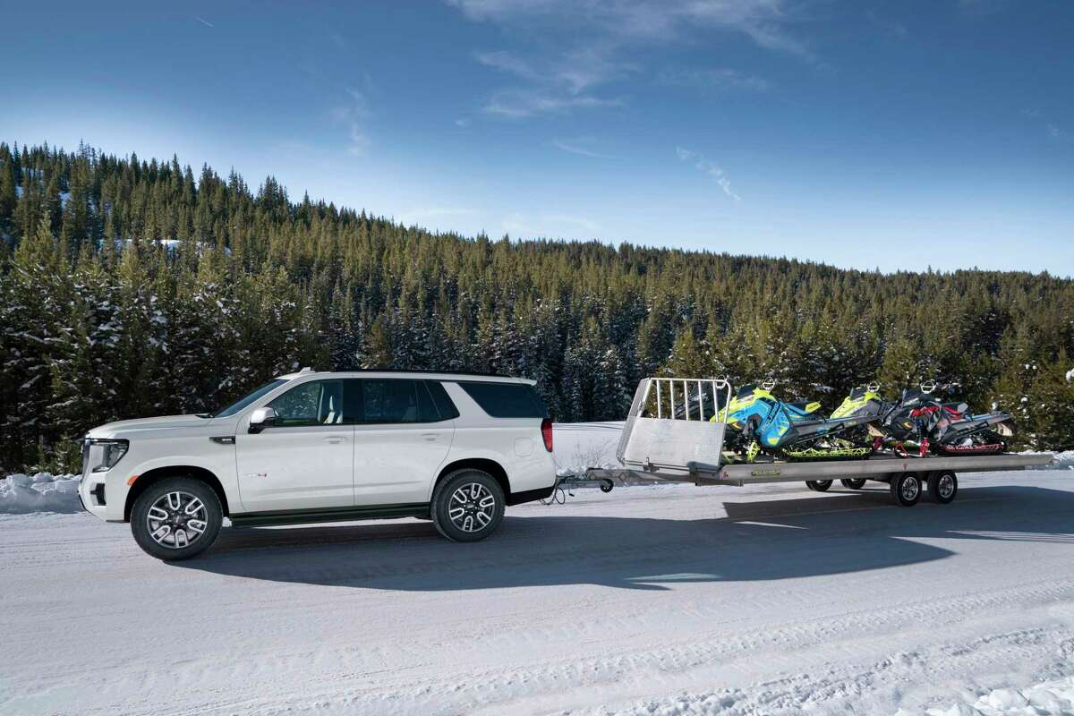 In addition to its standard 5.3-liter V8, the Yukon AT4's engine options are a 3.0-liter inline six-cylinder turbo-diesel or a 420-horsepower 6.2-liter V8.