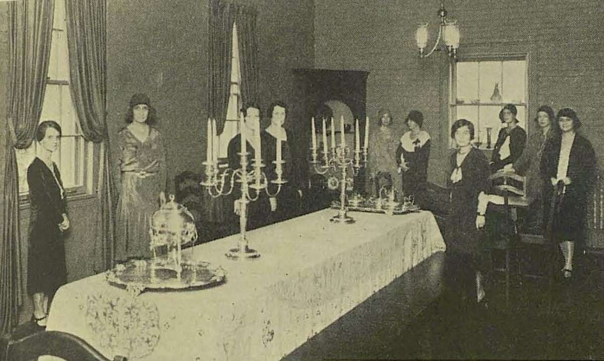 A dozen Houston women founded The Junior League of Houston in 1925. They had a luncheon club that raised money for a well-baby clinic and other community projects.