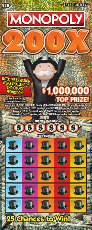 A local resident recently claimed a $1 million prize from a Texas Lottery scratch off game bought from a Northwest Side convenience store. Photo: Texas Lottery
