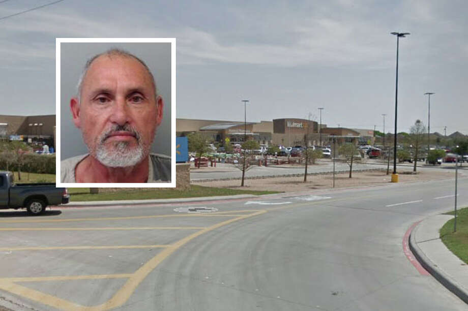 A man has been arrested for allegedly stealing a vehicle from a local Walmart. Photo: Courtesy