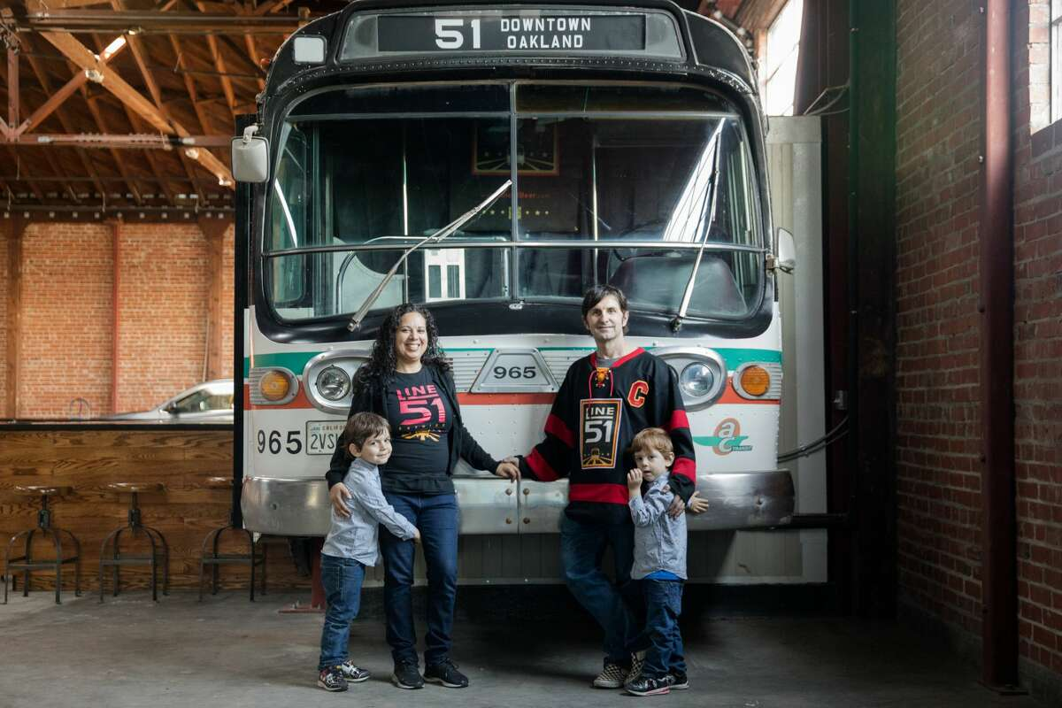 Line 51 brewery opens in Oakland with a transit-inspired ...