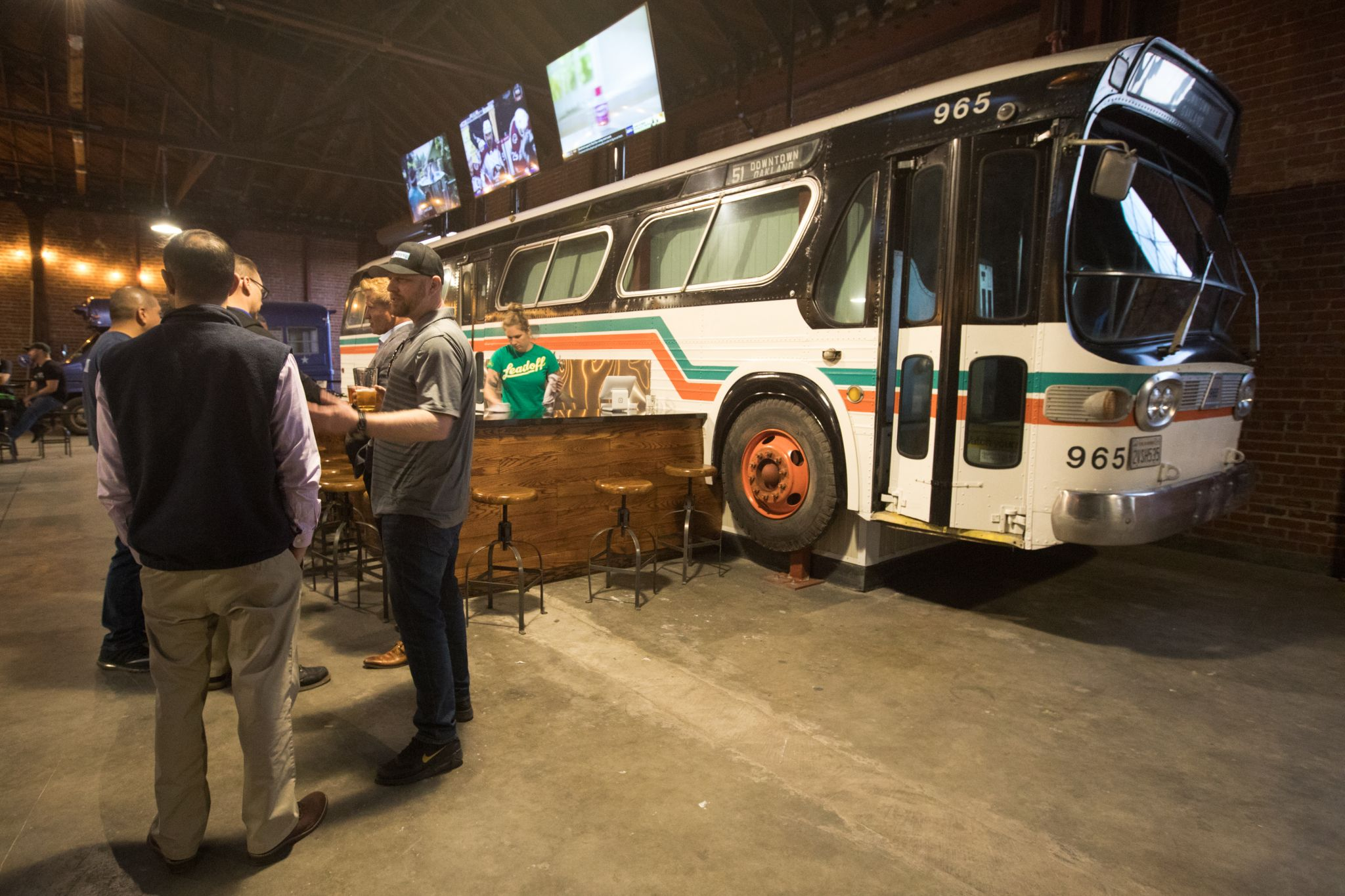 Line 51 Brewery Opens In Oakland With A Transit Inspired Surprise In Store For Customers
