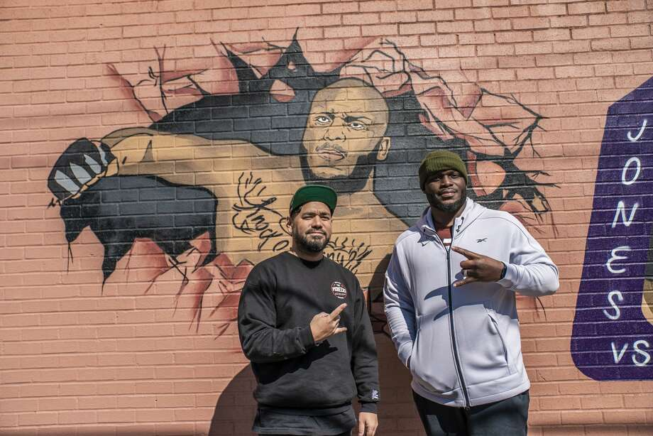 PHOTOS: More of the Derrick Lewis mural in downtown Houston