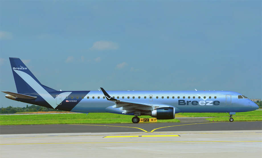 David Neeleman's new Breeze Airways hopes to start this year with leased E-195s. Photo: Breeze Airways