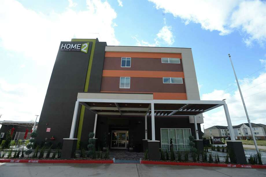 Home 2 Suites, a Hilton hotel, opened last week. It joins the hotel complex located off I-10 near the Walden Road exit, and offers amenities including a gym, laundry facilities, pool and outdoor patios, and rooms suited for both overnnight and long-term stays. The Days Inn & Suites and Avid hotels, located on the westbound side of the interstate, are scheduled to open within the next couple months. Photo taken Monday, February 3, 2020 Kim Brent/The Enterprise Photo: Kim Brent / The Enterprise / BEN