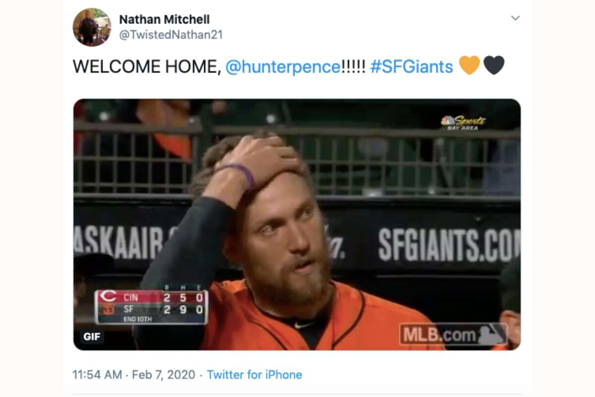 Giants writers and fans react to the team bringing back Hunter Pence.