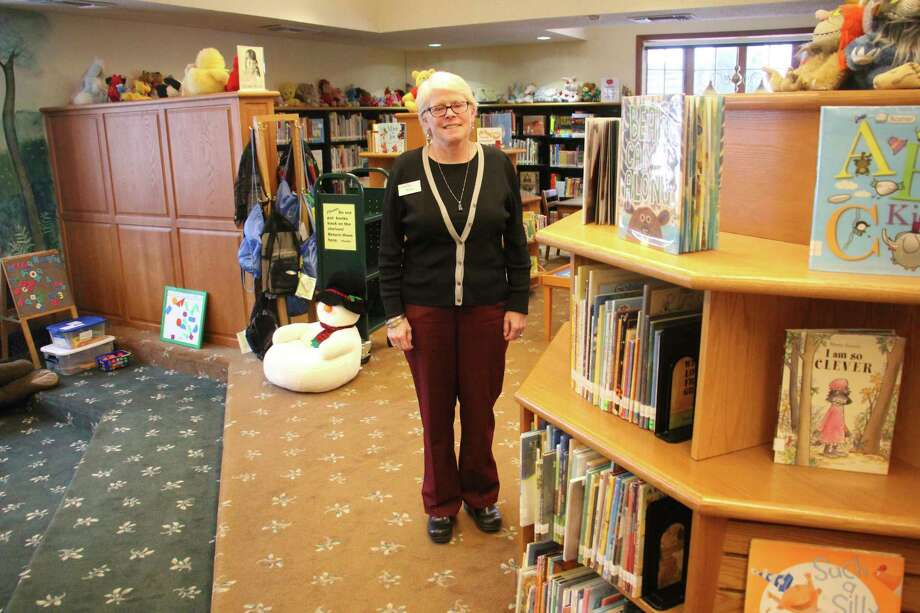 Bad Axe District Library director, recently talked with the Tribune about what it takes to be a librarian. (Sara Eisinger/ Huron Daily Tribune)